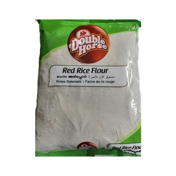 Double Horse Roasted Red Rice Flour