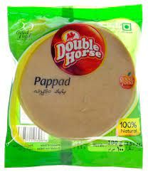 Double Horse Pappad