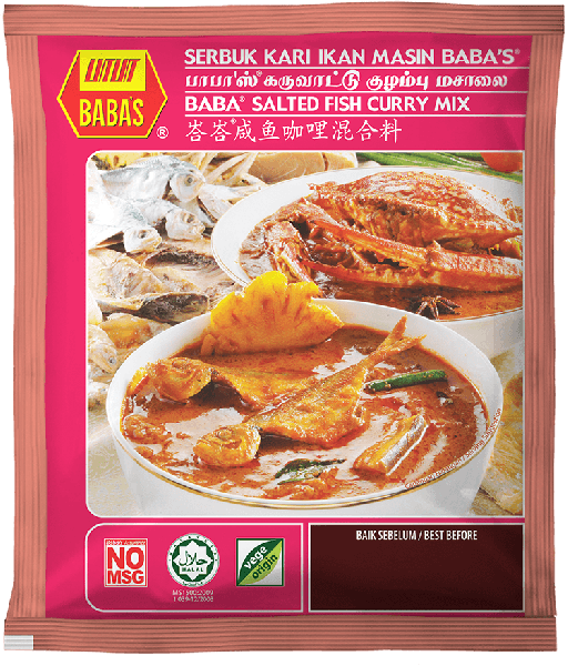 BABA's Salted Fish Curry Mix